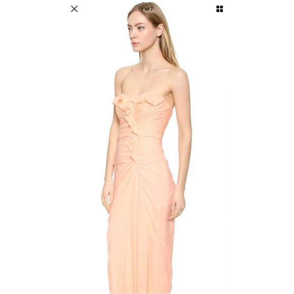 2e10e732b455 Badgley Mischka Dresses | Adorable Blush Pink Badgley Mishka Evening ...